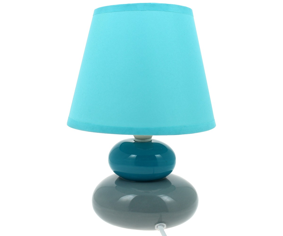 lampe de chevet bleu turquoise tout savoir sur la maison. Black Bedroom Furniture Sets. Home Design Ideas
