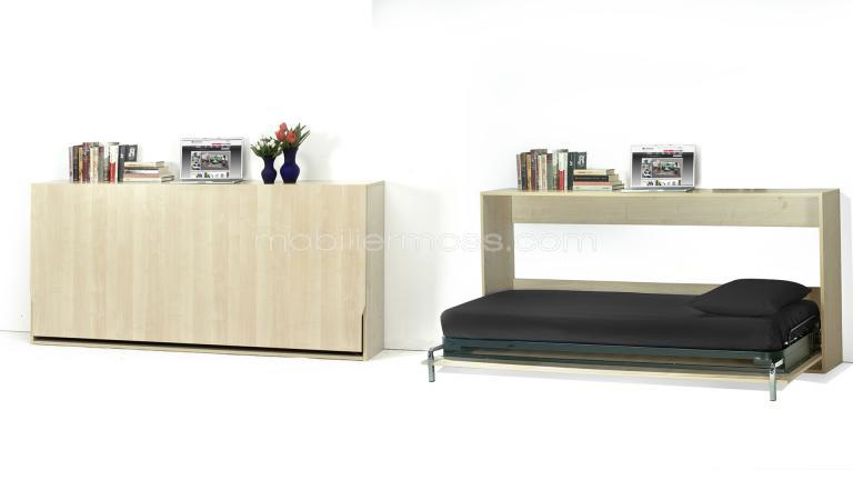 lit escamotable archives tout savoir sur la maison omote. Black Bedroom Furniture Sets. Home Design Ideas