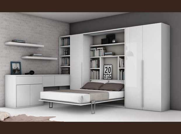 lit pivotant bibliotheque tout savoir sur la maison omote. Black Bedroom Furniture Sets. Home Design Ideas
